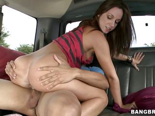 lucky guy get's picked up and has some bus sex