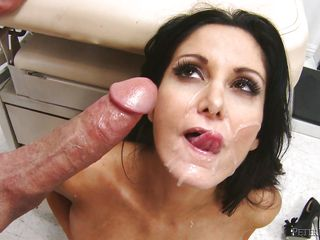 dark haired slut facialized @ north pole #93 part 1